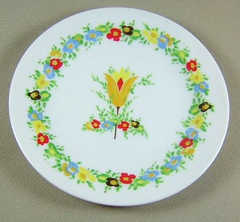 Make sure your browser can show photos and reload this page to see Franconia - Krautheim China Palette Bread and butter plate 6