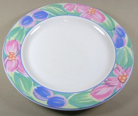 Make sure your browser can show photos and reload this page to see International - Sunmarc China Impressions 54 Dinner plate 10 1/2'