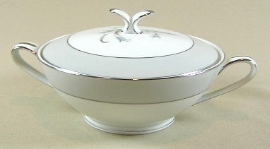 Make sure your browser can show photos and reload this page to see Noritake China Theme 5545 Sugar bowl with lid