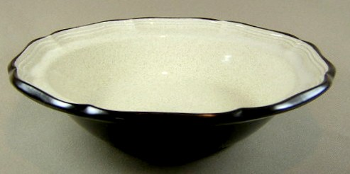 Make sure your browser can show photos and reload this page to see Mikasa China Antique White E8901 Round vegetable  9 3/4