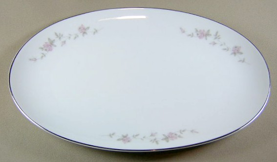 Make sure your browser can show photos and reload this page to see Noritake China Bellemead 6314 Platter, small 12 1/4