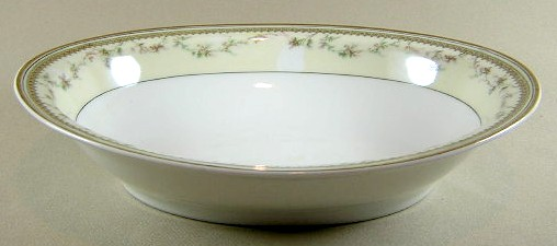 Make sure your browser can show photos and reload this page to see Haviland China Yale Oval vegetable 9 1/4