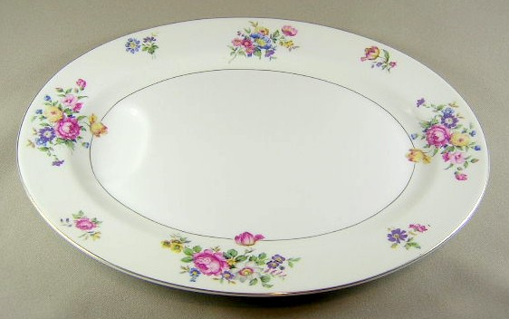Make sure your browser can show photos and reload this page to see Haviland China Pasadena Platter, medium 14