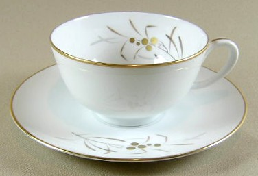 Make sure your browser can show photos and reload this page to see Franciscan China Malaya Cup and saucer set 2