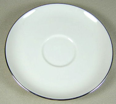 Make sure your browser can show photos and reload this page to see Fine Arts China Tranquility  Saucer only 5 7/8