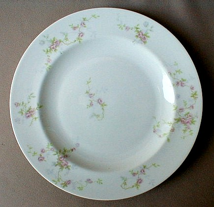 Make sure your browser can show photos and reload this page to see Haviland China Touraine Dinner plate 9 3/4