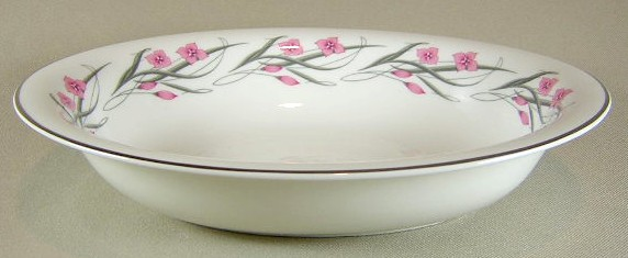 Make sure your browser can show photos and reload this page to see Haviland China Serenade Oval vegetable 9 1/2