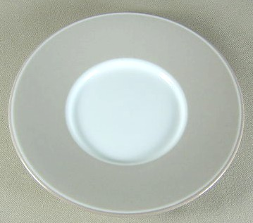 Make sure your browser can show photos and reload this page to see Dansk China Adagio - Taupe Saucer only 6 3/8