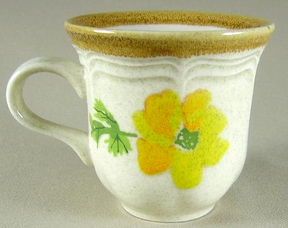 Make sure your browser can show photos and reload this page to see Mikasa China Summer Garden EC406 Cup only (no saucer) 3 1/4