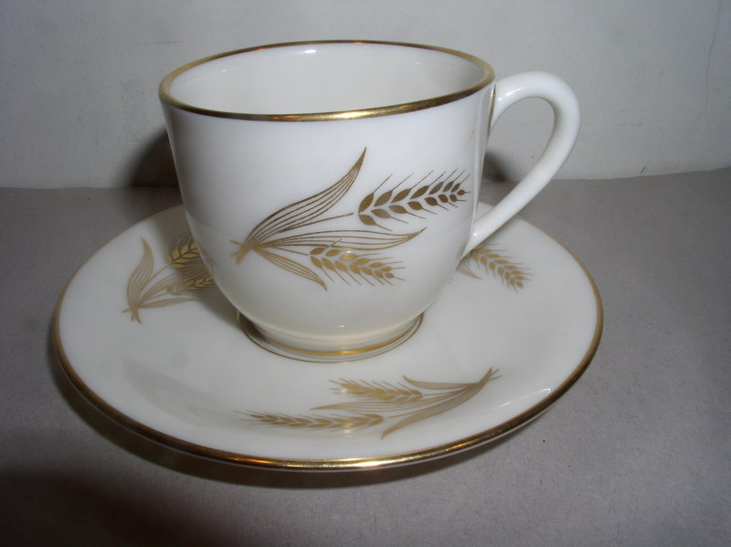 Make sure your browser can show photos and reload this page to see Lenox China Harvest Demitasse cup and saucer