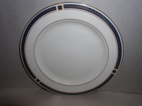 Make sure your browser can show photos and reload this page to see Lenox China Eaton Knoll Bread and butter plate