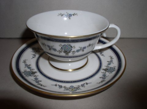 Make sure your browser can show photos and reload this page to see Gorham China Spring Laurel Cup and saucer set