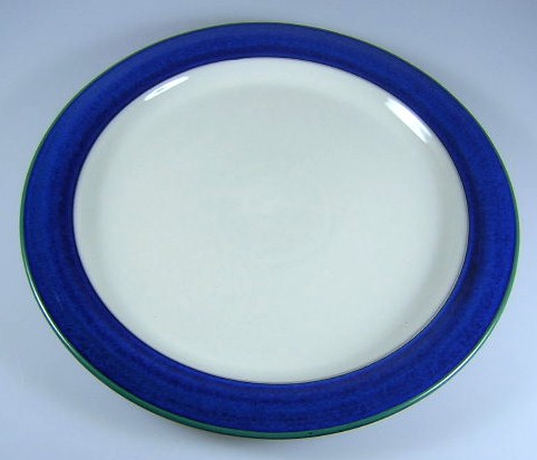 Make sure your browser can show photos and reload this page to see Denby - Langley China Metz Dinner plate 10 3/8