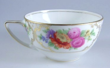 Make sure your browser can show photos and reload this page to see Rosenthal - Continental China Dresden, The Cup only (no saucer) 2' H X 3 3/4