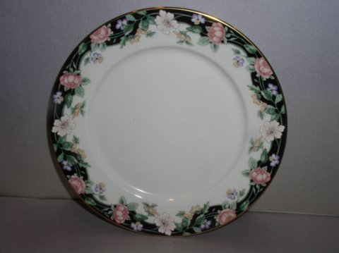Make sure your browser can show photos and reload this page to see Lenox China Prairie Blossoms Bread and butter plate
