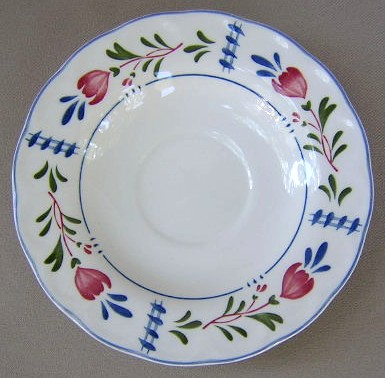 Make sure your browser can show photos and reload this page to see Nikko Dinnerware Avondale 911 Saucer only 6