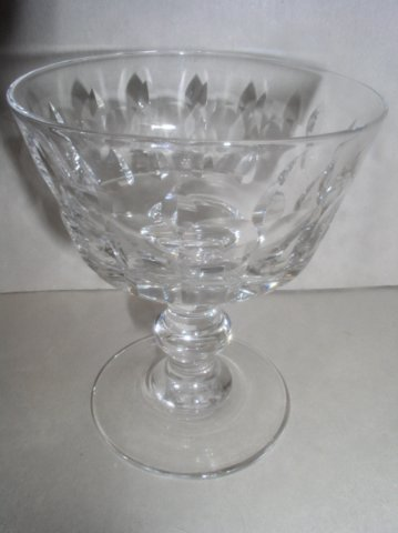 Make sure your browser can show photos and reload this page to see Lenox Crystal Aristocrat Sherbet tall/champagne --4 1/2