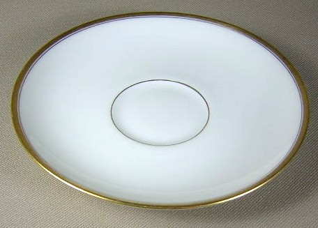 Make sure your browser can show photos and reload this page to see Haviland China Coronado Saucer only  5 5/8