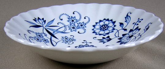 Make sure your browser can show photos and reload this page to see Meakin, J. & G. Dinnerware Blue Nordic Fruit/dessert bowl  5 3/8