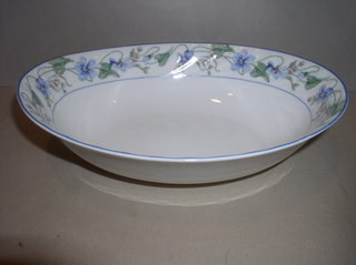 Make sure your browser can show photos and reload this page to see Gorham China Sweet Violet Oval vegetable --10