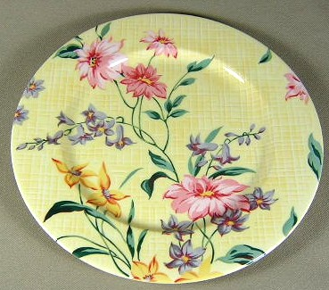 Make sure your browser can show photos and reload this page to see Lenox China Perennial Gardens Salad plate 8 1/4