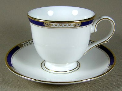Make sure your browser can show photos and reload this page to see Lenox China Royal Treasure Cup and saucer set 3 3/8