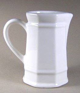 Make sure your browser can show photos and reload this page to see Pfaltzgraff China Heritage - White Creamer