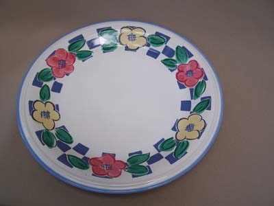 Make sure your browser can show photos and reload this page to see Christopher Stuart China Village Bistro Y2339 Chop/round platter 12