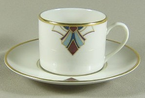 Make sure your browser can show photos and reload this page to see Pickard China Bijou Cup and saucer set 3
