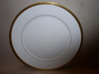 Make sure your browser can show photos and reload this page to see Oxford (Div Of Lenox) China Bennington Salad plate