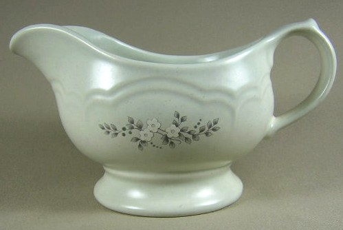 Make sure your browser can show photos and reload this page to see Pfaltzgraff China Heirloom Gravy (no stand)
