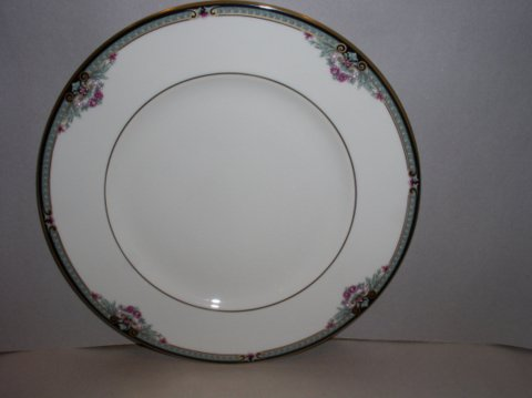 Make sure your browser can show photos and reload this page to see Lenox China Newbury Square Bread and butter plate