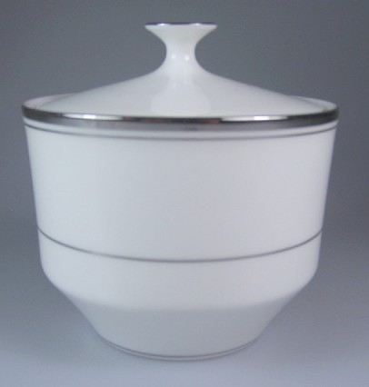 Make sure your browser can show photos and reload this page to see Mikasa China Briarcliffe A1101 Sugar bowl with lid 3 1/4