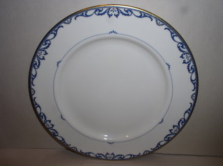 Make sure your browser can show photos and reload this page to see Lenox China Liberty Salad plate