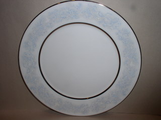 Make sure your browser can show photos and reload this page to see Oxford (Div Of Lenox) China Twilight Dell Bread and butter plate