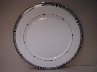 Make sure your browser can show photos and reload this page to see Lenox China Kara Salad plate