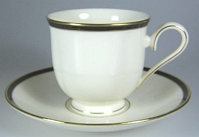 Make sure your browser can show photos and reload this page to see Lenox China Urban Lights Cup and saucer set 3 1/4