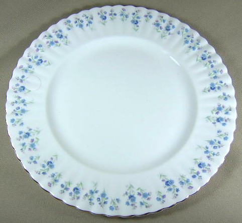 Make sure your browser can show photos and reload this page to see Royal Albert China Memory Lane Dinner plate 10 3/8