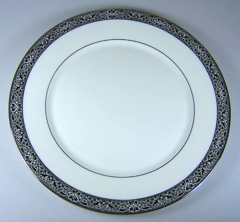 Make sure your browser can show photos and reload this page to see Oxford (Div Of Lenox) China Evening Mood Dinner plate 10 3/4