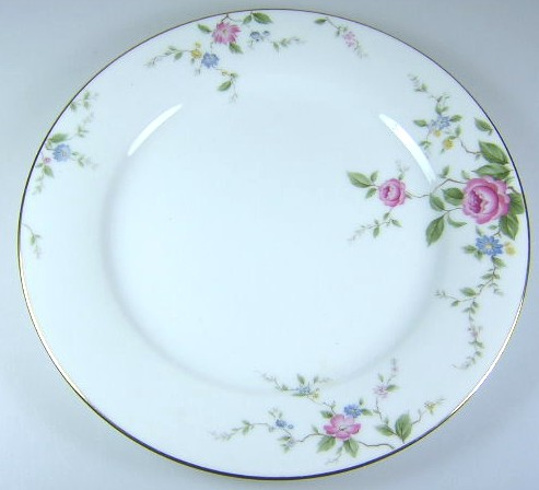 Make sure your browser can show photos and reload this page to see Noritake China Firenze 6674 Salad plate 8 1/4