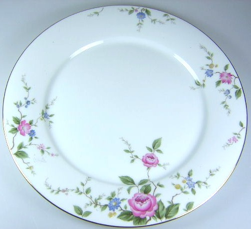 Make sure your browser can show photos and reload this page to see Noritake China Firenze 6674 Dinner plate 10 1/2
