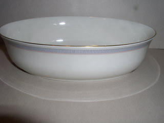 Make sure your browser can show photos and reload this page to see Lenox China Biltmore Oval vegetable --9 1/2