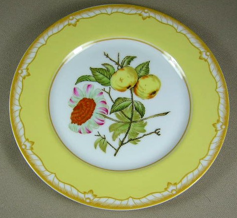 Make sure your browser can show photos and reload this page to see Briard, Georges China Somerset  Salad plate  7 1/2