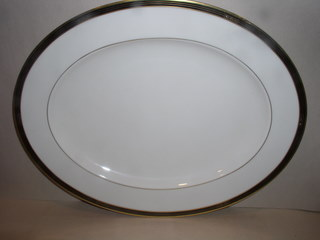 Make sure your browser can show photos and reload this page to see Lenox China Langdon Gate Platter, medium --13 1/4--ON SALE, Reg $190