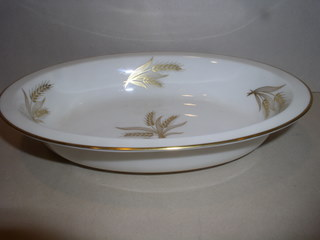 Make sure your browser can show photos and reload this page to see Lenox China Harvest Oval vegetable --9 1/2