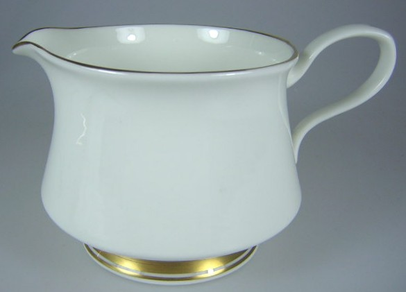 Make sure your browser can show photos and reload this page to see Oxford (Div Of Lenox) China Andover Creamer