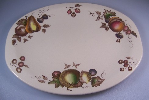 Make sure your browser can show photos and reload this page to see Johnson Brothers Dinnerware  Orchard Platter, small 12 1/8