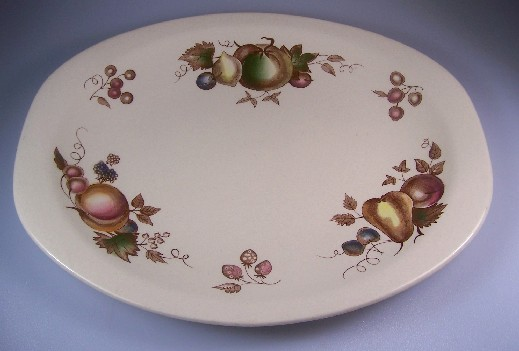 Make sure your browser can show photos and reload this page to see Johnson Brothers Dinnerware  Orchard Platter, medium 14