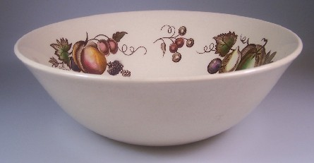 Make sure your browser can show photos and reload this page to see Johnson Brothers Dinnerware  Orchard Round vegetable  8 1/2