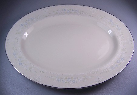 Make sure your browser can show photos and reload this page to see Pickard China Serenity Platter, small 12 1/4